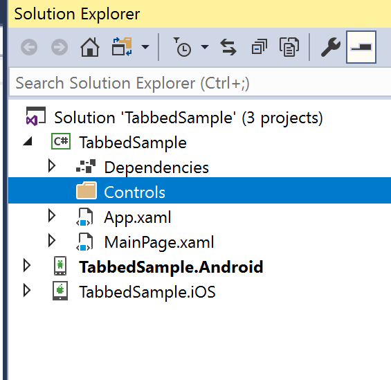 Xamarin Forms: A Better Tabbed Page Renderer