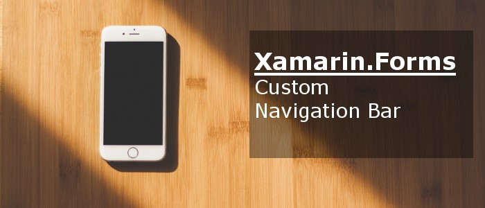 Xamarin.Forms Title View - A Powerful Navigation View